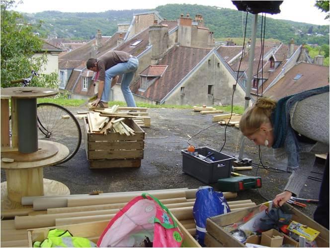 Trivial'Compost » Ateliers meubles en palettes
